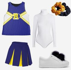 Group Costumes, Diy Costumes, Costumes For Women, Costume Ideas, Cosplay Ideas, Cheerleader Halloween Costume, Cute Halloween Costumes, Halloween Carnival, Group Halloween