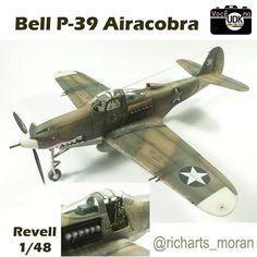 Você na UdK Bell P-39 AIracobra (Revell 1/48) Autor/author: Richard Moran @richarts_moran  #udk #usinadoskits #plastimodelismo #plasticmodel #scalemodel #vocenaudk #eua #usa #usaaf #iigm #ww2 #aircraft #fighter #airacobra #bell #aeronave #caca #chasseur #jager #flugzeug #avion #revell #hobby #passatempo