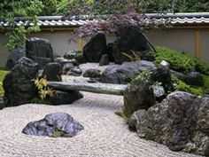 "Domestic Works - Shunmyo Masuno 1999  ""Ryu-Mon-Tei"" Garden for ""Shiun-tai""  in Gion-ji temple Ibaraki Prefecture"
