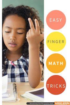 finger math for kids - math games and tricks