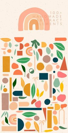 ABSTRACT SHAPES? minimalist geometric #collection#lovely#animated#avantgarde#illustration