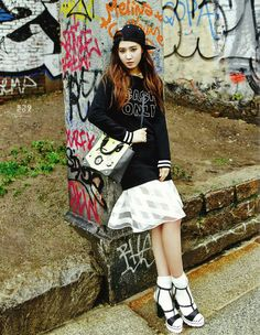 Girls' Generation's Tiffany and Yuri are Traveling Sisters in Vogue Girl Pictorial | Soompi
