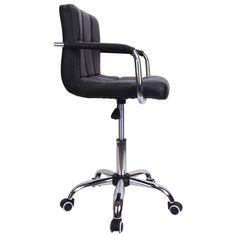 Ridgeyard Modern Adjustable Salon Swivel Wheel Barstool Computer Seat kitchen…