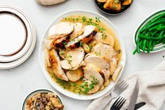 Free up your oven and join the crock pot turkey army with the juiciest turkey breast ever. You won't believe it came from a crock pot!