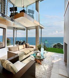 Amazing Beach Home! [ Wainscotingamerica.com ] #beach #wainscoting #design
