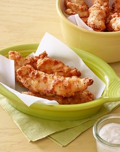 The ultimate kid-friendly dish, these chicken tenders deliver big ranch flavor. After just a little planning ahead to marinate the chicken, cook time is just 15 minutes. This recipe is quick, easy, and sure to have the whole family licking their fingers!