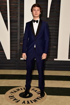 Ansel Elgort. See what all the stars wore to the Academy Awards' biggest after party.