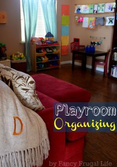 Playroom Tour (Toy & Cl    utter Organizing) ...pin now look later