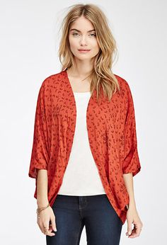 Paisley Dolman Cardigan | FOREVER21 - 2052288525