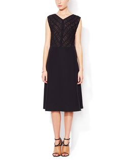 Pile Silk Dress by Tocca at Gilt