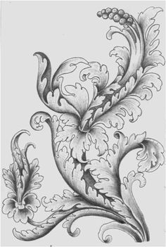 wood carving acanthus - Пошук Google