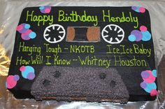 Cassette tape - For a 30th birthday