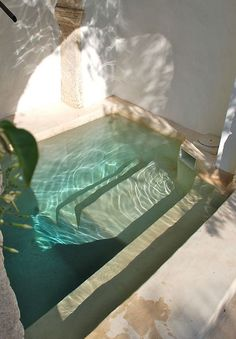Natural Pool Ideas On Home Backyard Pool Ideas On Home Backyard garden design with a small plunge pool to relax in - Beleb .Invigorating garden design with a small plunge pool to relax