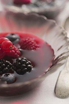Summer Berry Gazpacho
