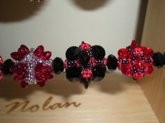 Red Hot Beaded Beads