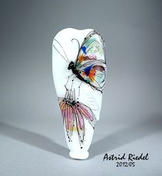 Astrid Riedel  Wow! Glass bead art - my new love - WISH I had some - WISH I could make some!!