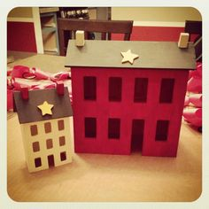Salt box house from Hobby Lobby.