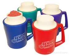 Slush mugs.  Homemade slush drinks.  I can't even begin to explain how much I loved my Slush Mug.  They have started selling these again.