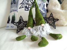 Filzwichtel Kantenhocker Filz Wichtel 40 Cm Weihnachtswichtel ♥ Grün In  Möbel U0026 Wohnen, Feste U0026 Besondere Anlässe, Jahreszeitliche Dekoration