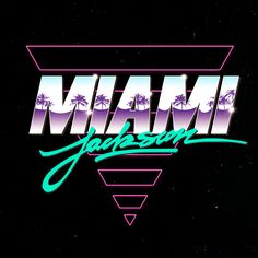 "New logo series for Miami Jackson, formerly known as Action Jackson inspired by the ""Action Jackson"" designed by Michaël Brun.""Jackson"" calligraphy by Michaël Brun."