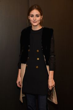 Olivia Palermo - Rachel Zoe Fall 2015 Presentation - February 17, 2015