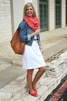 casual spring style for women in their 30s