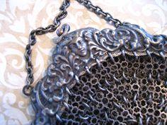 Antique Edwardian Chain Purse Handbag by charmingellie on Etsy