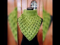 Knitting and Bordado Crochet Collar Pattern, Crochet Mandala Pattern, Crochet Shawl, Knit Crochet, Crochet Patterns, Crochet Crafts, Crochet Projects, Crochet Neck Warmer, Crochet Flowers