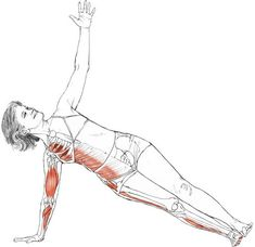 side plank pose - Google Search