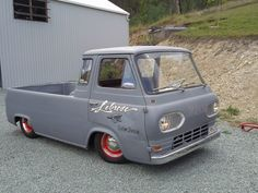 "'63 Ford Econoline Utility. Cool ""for a Ford"";)"