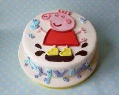 peppa pig cake template - Google Search