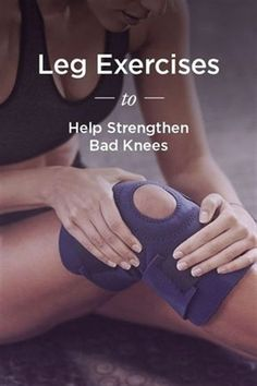 Fitness Quad and hamstring exercises to strengthen bad knees - Uncomfortable knee pain can interfere with your ability to move around comfortably. These strengthening exercises can help ease any discomfort. Lower Ab Workouts, At Home Workouts, Body Workouts, Yoga Fitness, Health Fitness, Fitness Exercises, Enjoy Fitness, Fitness Men, Fitness Shirts