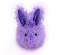 Pansy the Lavender Bunny Rabbit Stuffed Animal Plush by Fuzziggles, $35.95
