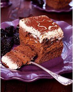 Miodownik caffe latte - I Love Bake Food Cakes, Coleslaw, Pavlova, Nutella, Tiramisu, Cake Recipes, Food And Drink, Cooking Recipes, Sweets