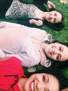 Haley Ramm, Italia Ricci, and Aisha Dee