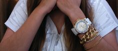 KYBOE! Gold Series White ! Love the Arm Candy