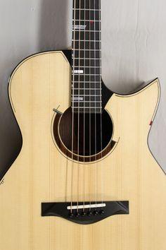 Guitar by J. Guitar Room, Custom Guitars, Acoustic Guitars, Playing Guitar, Instruments, Amazing, Wood, Music, Inspiration