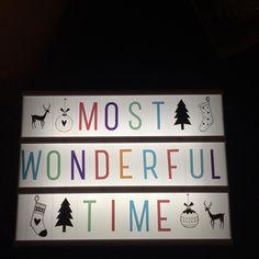"""#happy #lightbox #alittlecompany #xmas #xmastime #light #xmasparty #wonderful #christmas #cozy #christmastime #winter #wintertime #home #homesweethome…"""