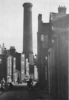 Red Cow Lane, Smithfield, looking south towards the Jameson Distillery chimney. Ireland Pictures, Images Of Ireland, Love Ireland, Dublin Ireland, Old Pictures, Old Photos, Dublin Street, Dublin City, Ivy Rose