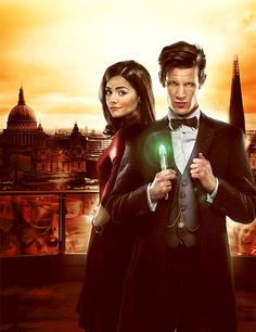 Clara & The Doctor