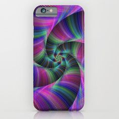 Spiral tentacles iPhone 6 Slim Case #phonecase