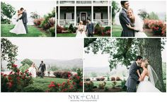 Nyk + Cali Wedding Photography | Front Porch Farms | TN | Bride + Groom | Portraits | Wedding | Mountains | Romantic