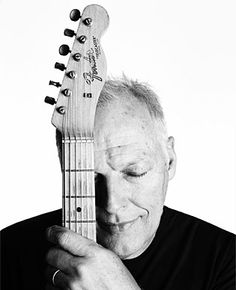David Gilmour.  Being thankful for the Guitar....