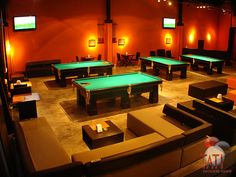 a snooker bar. I want a pool bar in my house.