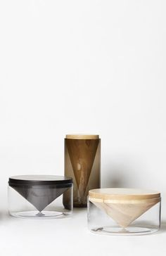 thedesignwalker:  Via NordicDays.nl | Apex Tables by Hunting & Narud
