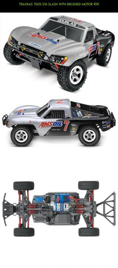 Traxxas 7005 1/16 Slash with Brushed Motor RTR #tech #drone #parts #revo #products #racing #kit #e #mini #traxxas #technology #gadgets #camera #plans #fpv #shopping