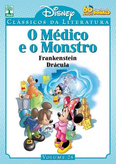 https://flic.kr/p/nF6bJC | Coleção Clássicos da Literatura Disney O Médico e o Monstro Editora Abril - Tradução Clene Salles