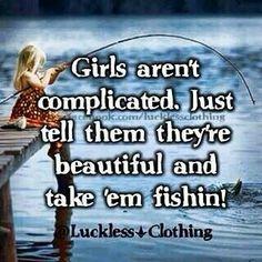 Nice girls love fishing!