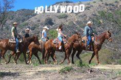Hollywood Sign Horseback Ride 2017 - Anaheim & Buena Park