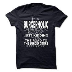 Burgerholic - #gifts for guys #money gift. OBTAIN LOWEST PRICE => https://www.sunfrog.com/Funny/Burgerholic-Ladies.html?68278